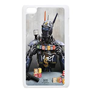 Fashionable Creative Chappie Cover case For Ipod Touch 4 JZ6K93565