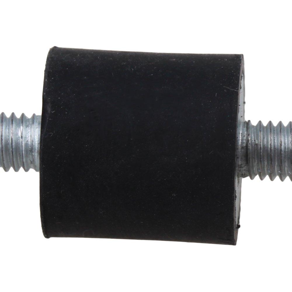 5 St/ücke M6 Gummi Doppel Enden Schraube Silent Block Blockierung der Sto/ßd/ämpfung und Ger/äuschminderung F/ür Wasserpumpe 20mm Durchmesser