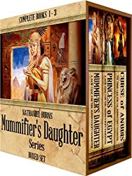 The Mummifier's Daughter Series BOXED SET: Complete Full-Length Novels 1 -3 (English Edition)