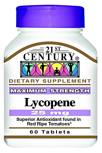 21st Century Lycopene 25Mg 60 Count (2 Pack) by 21st Century