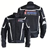 Suzuki Yoshimura Factory Racing Mesh Riding Jacket Black Large LRG