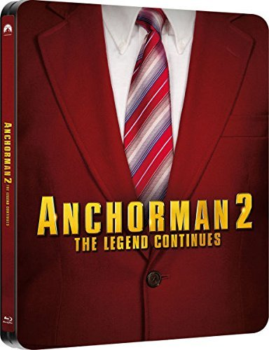 Anchorman 2 The Legend Continues UK Limited Edition Steelbook ...