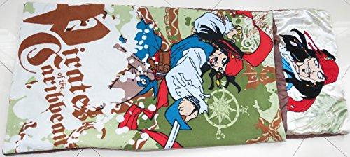 - Disney Captain Jack Sparrow Pirates of the Carribean Slumber Sleeping Bag Blanket