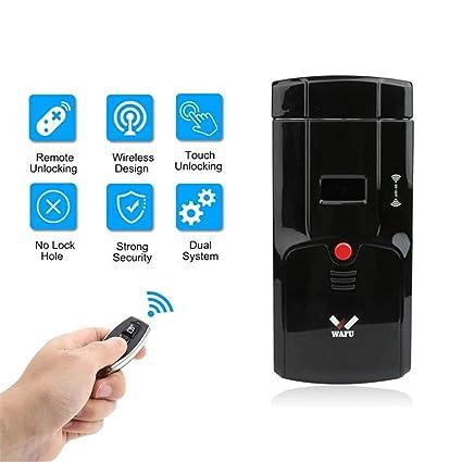 Control Remoto Inalámbrico Inalámbrico Wafu Invisible Opeing Con Circuitos Dobles Desbloqueados Para La Seguridad Del Hogar