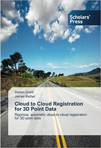 Book Cloud to Cloud Registration for 3D Point Data: Rigorous, automatic cloud-to-cloud registration for 3D point data