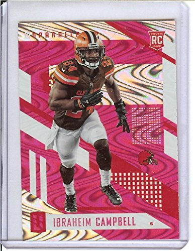 Football NFL 2017 Unparalleled Pink #47 Ibraheim Campbell Browns by