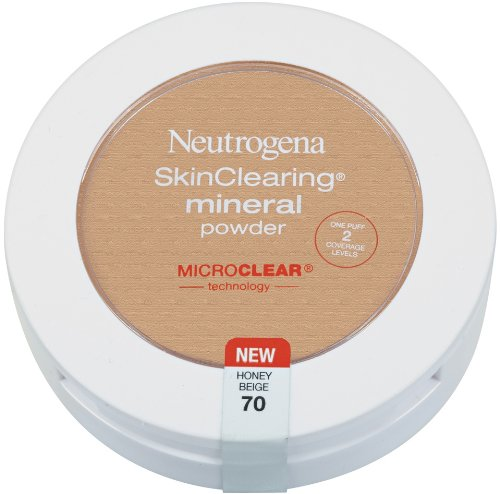 Neutrogena SkinClearing Mineral Powder Honey