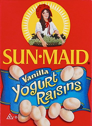 2 Bags Sun Maid Raisins Vanilla Yogurt Raisins 10 Mini Packs