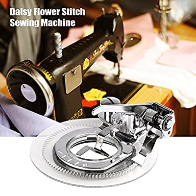 Powstro Daisy Flower Stitch Sewing Machine Presser Foot for All Low Shank Singer Janome Brother from Powstro