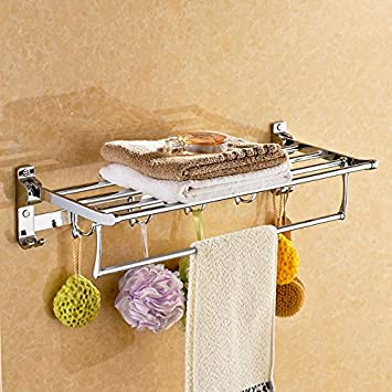 Folded hanging towel Washcloth Image Unavailable The Spruce Crafts Amazoncom Asibg Home With Hook Stainless Steel Towel Folded Towel