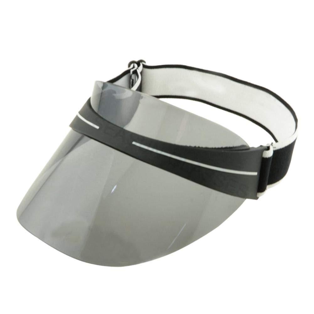 Jannyshop Sun Visor Hat Sunglasses Hat Anti-glare UV Protection Sunglasses Cap