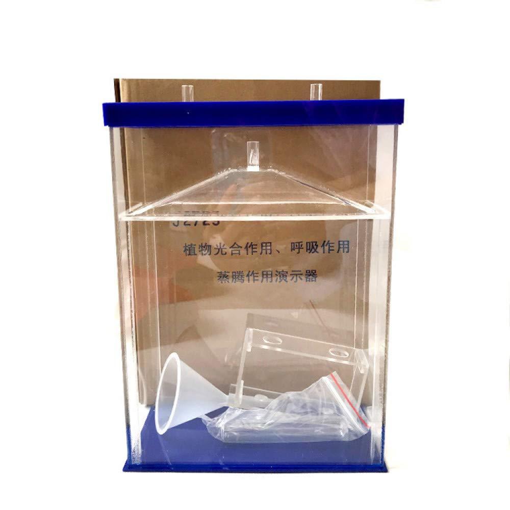 juler Juguetes educativos Stem Toys Science Kits Planta Respiración fotosintética y simulador de transpiración,Transparente,Un tamaño