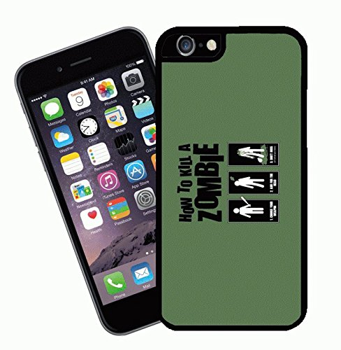 How To Kill a Zombie iPhone Fall – dieses Cover passt Apple Modell iPhone 6 – von Eclipse Geschenk Ideen