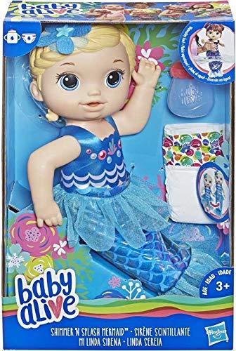 (Alive - Shimmer 'n' Splash Mermaid (Blonde Hair) - Splish, Splash and Play All Day.)