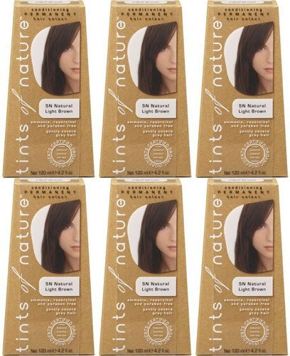 Tints Of Nature Natural Light Brown 120Ml Bundle Pack Of 6