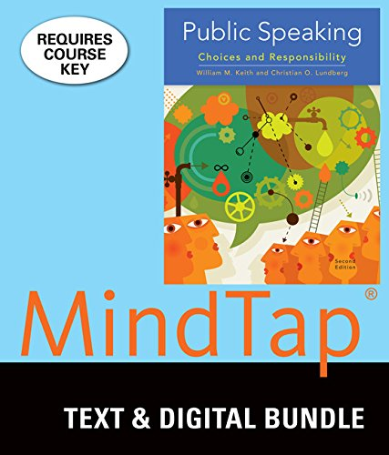Bundle: Public Speaking, Loose-leaf Version, 2nd + LMS Integrated for MindTap Speech, 1 term (6 months) Printed Access Card by Wadsworth Publishing