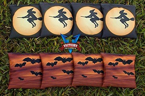 Victory Tailgate Custom Halloween Ver 5 Cornhole Bag Set (corn Filled)