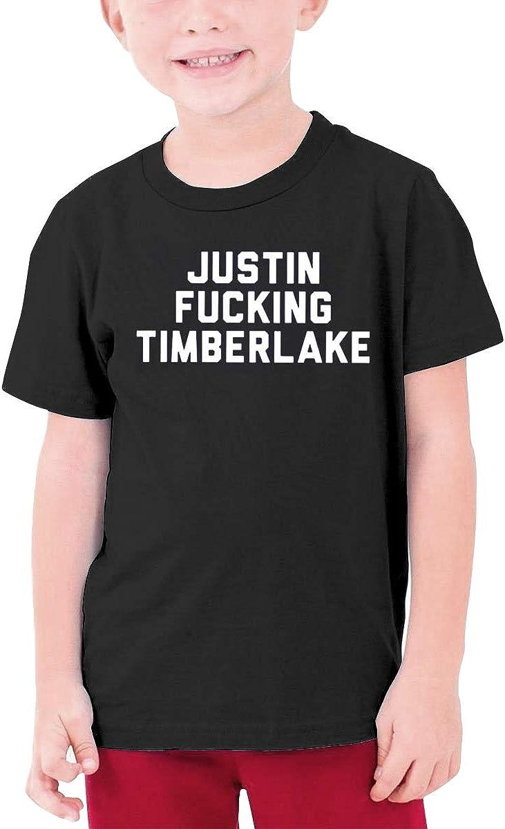 Alffe Justin?Fucking?Timberlake T-Shirt Boy Kids O-Neck 3D Printing Youth Fashion Tops