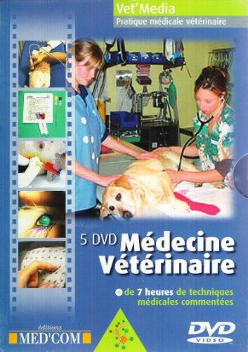 coffret 5 DVD de médecine vétérinaire