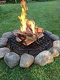 Walden Fire Pit Grate Round - Premium Heavy Duty