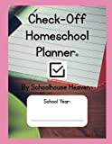 Check-Off Homeschool Planner