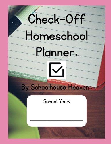 Check-Off Homeschool Planner