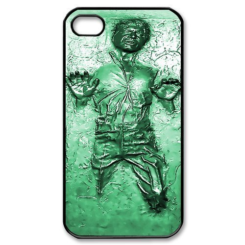 DiyCaseStore Han Solo Carbonite iPhone 4 4S Best Durable Cover Case Gift Idea (Han Solo Costume Diy)