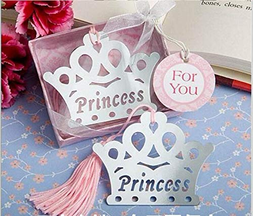 Event & Party 10pcs Metal Bookmark With Tassel Book Markers Wedding Souvenirs Baby Shower Baptism Party Favors And Gifts
