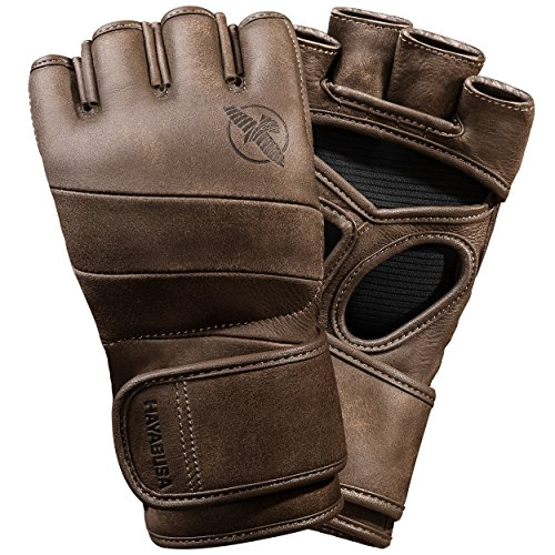 Hayabusa T3 Kanpeki MMA Boxing Gloves | Men and Women | 4oz | Large | Brown