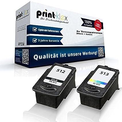 2 x cartuchos de tinta compatibles para Canon Pixma IP2700 ...