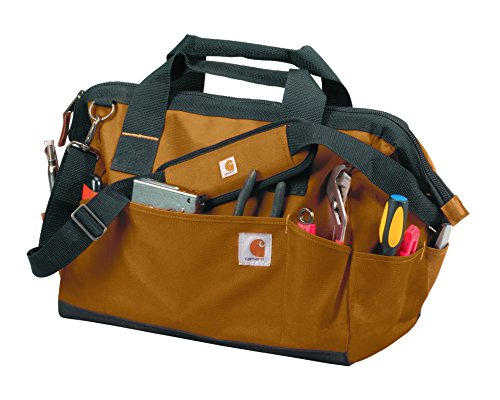 Carhartt Trade Series Tool Bag, Large, Carhartt Brown (Carhartt Bag Work)