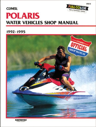 Clymer Repair Manual for Polaris Watercraft PWC 92-95