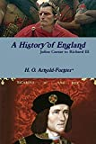 A History of England, Julius Caesar to Richard III