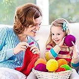 9 Pieces Crochet Hooks Ergonomic Crochet Hooks