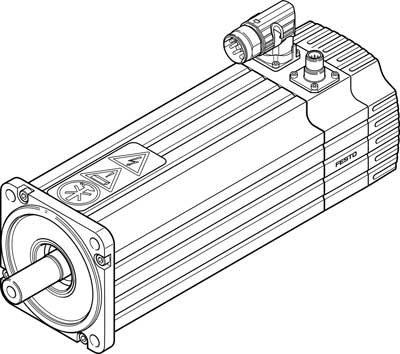 Festo 1563002 Servo Motor, Model EMMS-AS-100-LK-HV-RSB-S1 Festo Ltd