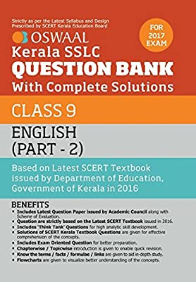 Amazon in: Buy Oswaal Kerala SSLC Question Bank For Class 9