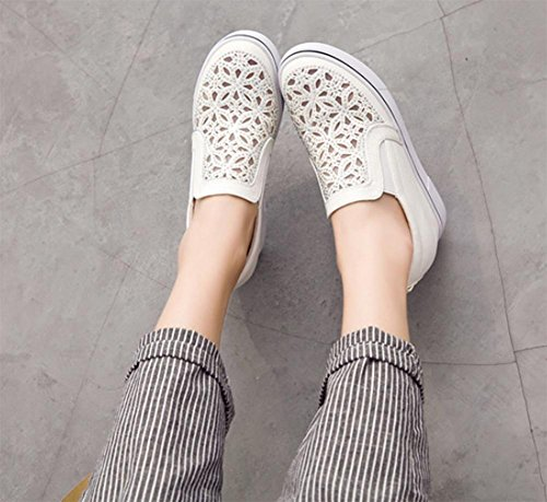 los zapatos del elevador Ms Spring mollete pendiente con zapatos de diamante, zapatos casuales zapatos perezosos , US6 / EU36 / UK4 / CN36