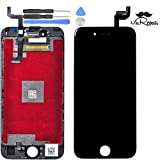 MR Repair Black iphone 6s PLUS LCD Display Touch Screen Digitizer Assembly Screen replacement full set with tools and Tempered Glass Screen Protector