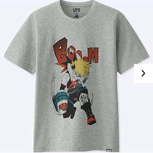 僕のヒーローアカデミア UTコラボ サイズL Tシャツ ジャンプ50周年 ユニクロの商品画像