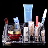 GLYBYCA Cosmetic Organizer with Removable Lipstick Holder