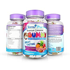 Children's Premium Complete Gummy Multivitamin by TerraPur