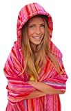Sunset Hot Hooded Beach Towel for Adults and Teens (Large 70''x40'')