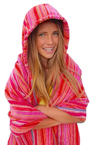 Sunset Hot Hooded Beach Towel for Adults and Teens (Large 70''x40'') by Towelhoodies.com (Image #4)