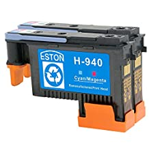 ESTON 2 PACK 940 Printhead Replacement for HP940 Print Head C4900A C4901A For HP Officejet Pro 8000 8500 8500A 8500A Plus 8500A Premium