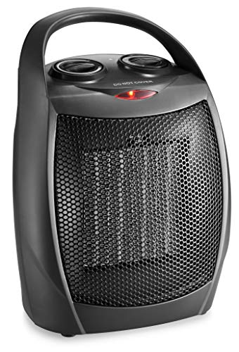 Find Discount HOME_CHOICE Small Ceramic Space Heater Electric Portable Heater Fan for Home Dorm Offi...