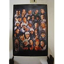 Rap Legends (Rapper Collage) Music Poster Print - 24x36