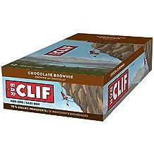 CLIF BAR - Energy Bar - Chocolate Brownie - (68 Gram Protein Bar, 12 Count)