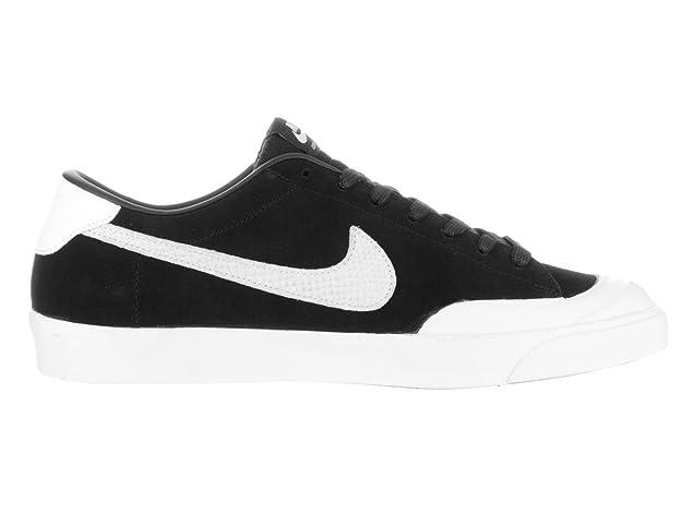 buy online 89b69 1bbf0 Amazon.com  Nike Mens Zoom All Court Ck Qs Skate Shoe BlackWhite 12 D(M)  US  Skateboarding