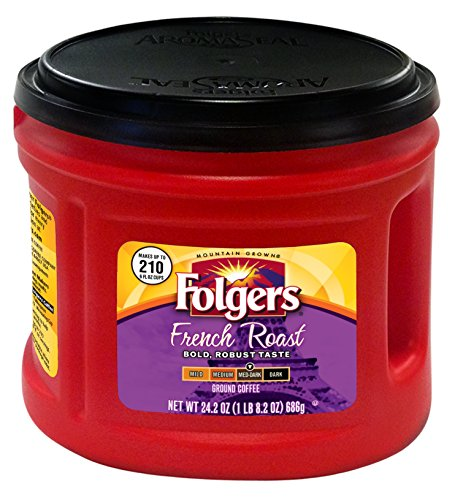 Folgers French Roast Coffee, 24.2 Ounce - Folgers French Coffee