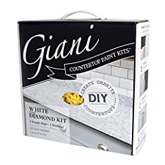 Giani Countertop Paint Kits are the perfect fit for budget conscious DIY kitchen makeovers. A simple 3-step process with all tools included, each kit will help you transform your existing countertops to the look of natural granite in just one...